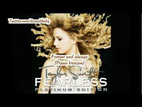 Forever  Always (piano version) \u2014 Taylor Swift Lastfm