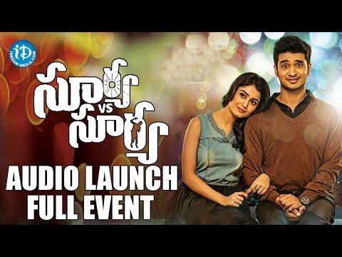 Surya Vs Surya Movie Audio Launch Full Event   Nikhil Siddhartha   Tridha Choudhury