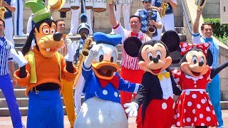 Disneylands 62nd Birthday Celebration With Mickey Mouse, Dapper Dans, Many More Friends