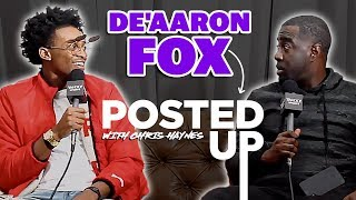 De'Aaron Fox joins Posted Up: A Yahoo Sports Podcast