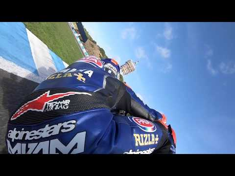 Onboard in Jerez with Pata Yamaha WorldSBK rider Michael van der Mark