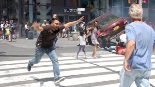 Drunk Driver Crashes Into Crowd Of People In Times Square NYC