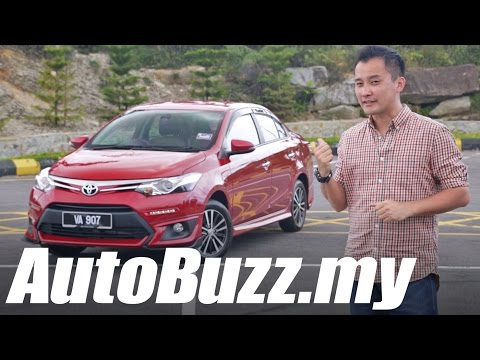 2016 Toyota Vios 1.5L GX facelift review