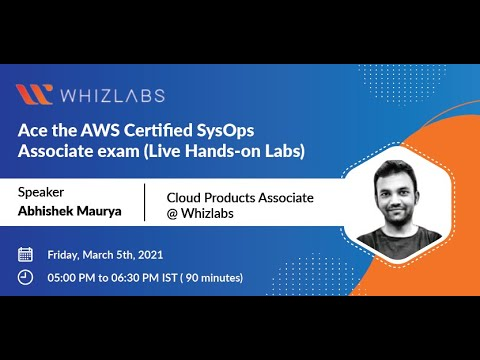Ace the AWS Certified SysOps Administrator Associate exam   Free ...