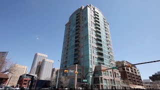 Calgary Penthouse Real Estate Video - 1802, 788 12 Ave SW