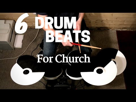 6 drum beats you can use for any worship song!