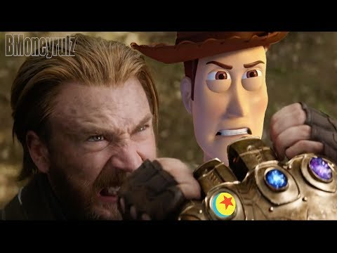 Disney/Pixar's AVENGERS: INFINITY WAR - Mash-Up Trailer Parody 2