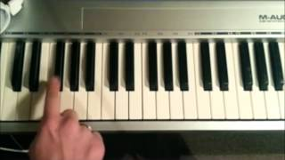 Fuse ODG - T.I.N.A. ft. Angel Piano Tutorial