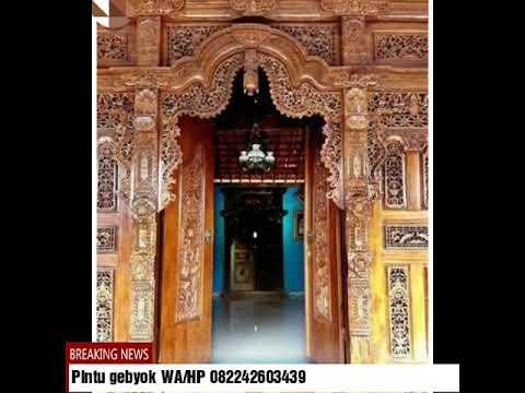 Pintu gebyok ukir khas Jawa,WA/HP 082242603439,pintu gebyok,pintu gebyok Jawa,pintu gebyok minimalis