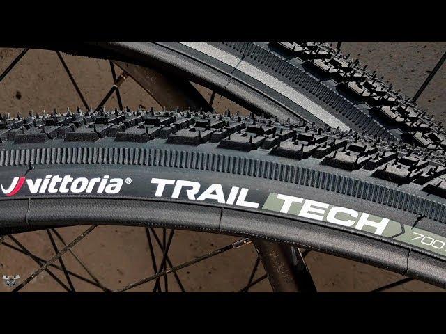 Видео Покрышка Vittoria Trail Tech G2.0 700x38C Rigid Full Black Reflective