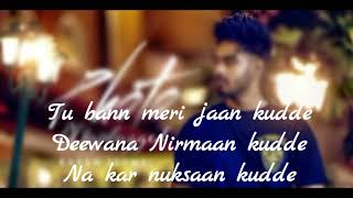 "Photo Karan Sehmbi (Unplugged) Full Lyrics Video  Song | ""Latest Punjabi Songs 2017"