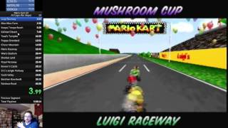 SgtRaven - Mario Kart 64 150CC All Cups No Skips 40:19 (9th Place in the world)