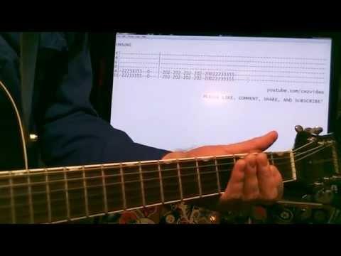 Guitar lessons online Helmet Unsung tab