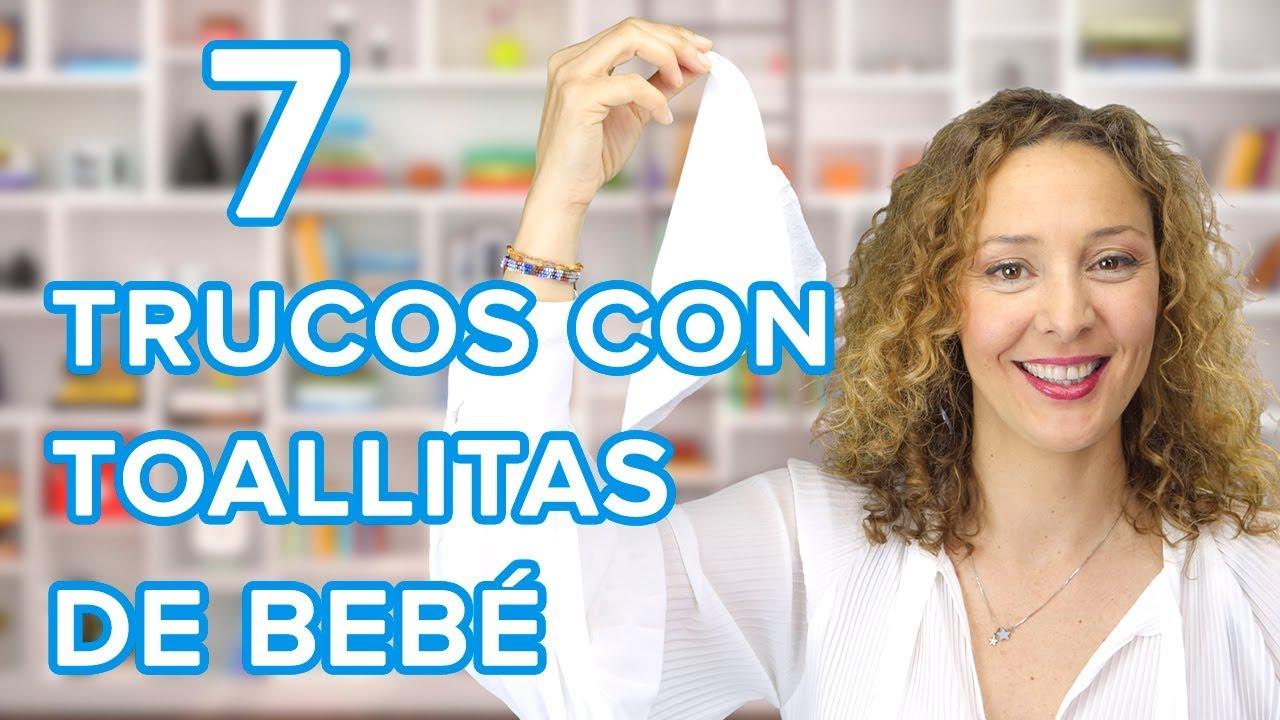 7 cosas increíbles que puedes hacer con toallitas de bebé | Trucos de madre  ????