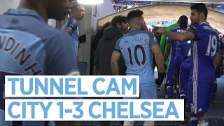 TEMPERS FLARE AT THE ETIHAD! | TUNNEL CAM | City 1-3 Chelsea