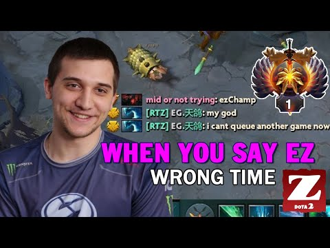 "ARTEEZY Morphling CARRY With LINKEN First Item - When You Say ""EZ"" Wrong Time DOTA 2"
