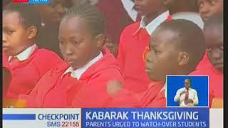 Parents urged to watch over their children when home during Kabarak prayer day