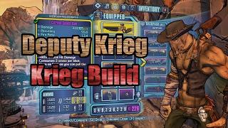 The Krieg-Naught | SHIELDED Hellborn Psycho Build | Borderlands 2