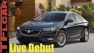 Live from Detroit, Michigan - 2018 Buick Regal Sportback and Station Wagon Debut