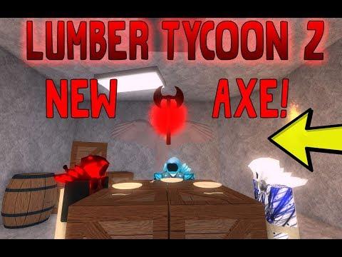 NEW SECRET IN THE NEW AXE! (Lumber tycoon 2 Secrets