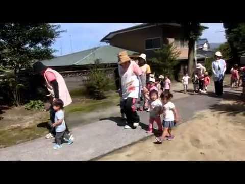 加津佐温泉神社参拝の帰り2015/07/15若木保育園