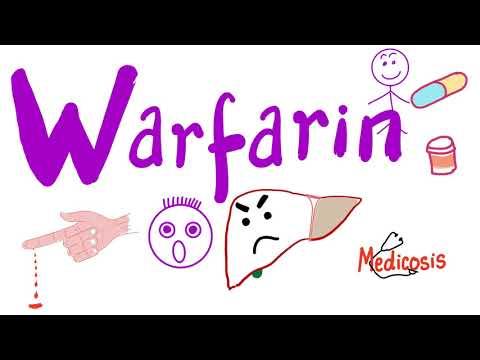 warfarin látás