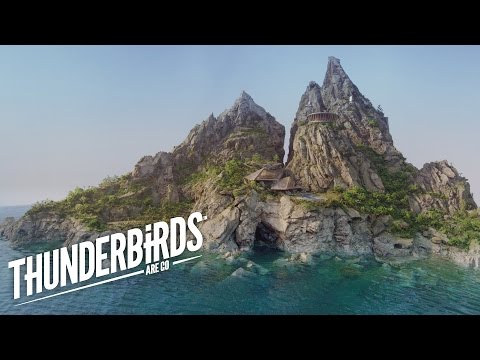 The Miniature Sets For The Thunderbirds Reboot Look So Good