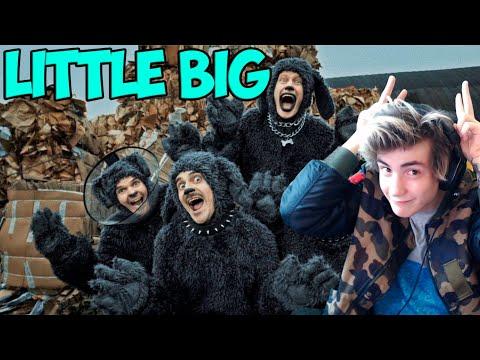 LITTLE BIG - ROCK–PAPER–SCISSORS (Official Music Video) Реакция Литл Биг