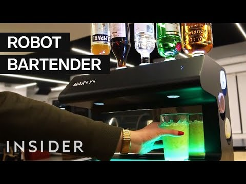 Getting Drunk with a Robot Bartender