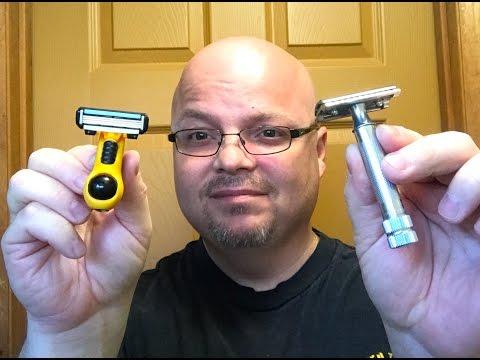Headblade vs Merkur 34C Head Shave & Giveaway Results