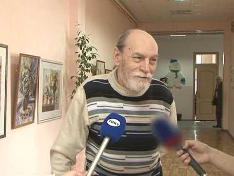 В Курске открыли вернисаж с акварельными работами Егора Кузнецова
