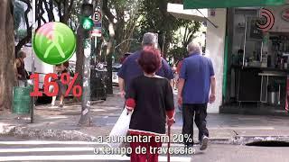 Ciência ajuda a melhorar a segurança de idosos na travessia de ruas.