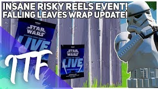 NEW Risky Reels Event, Autumn Wrap Update, Thank You! (Fortnite Battle Royale)