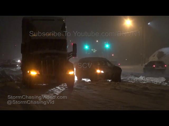 الثلوج تشل الحركة في نيويورك