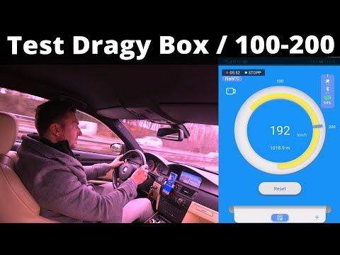 DRAGY gps Performance BMW 330xd 0-100 - смотреть онлайн на
