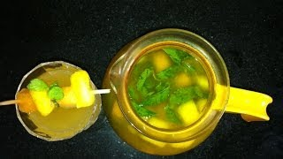 Slimming & Detox Fruit Infused Water Flat Belly Diet Drink Weight Loss