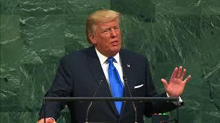 Выступление президента США Дональда Трампа на ГА ООН (с переводом)