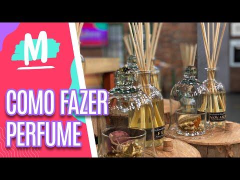 Aprenda a fazer perfume