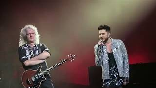 Somebody to Love - Queen + Adam Lambert. SSE Wembley Arena, 15 december 2017.