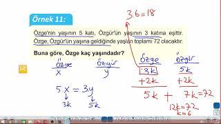 Eğitim Vadisi TYT Matematik 20.Föy Yaş Problemleri Konu Anlatım Videoları