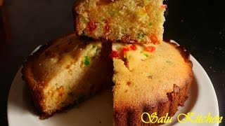 How To Bake Tutti Frutti Cake In Pressure Cooker