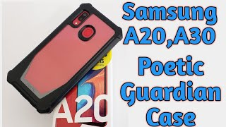 Poetic Guardian Series Case for the Samsung Galaxy A20,A30