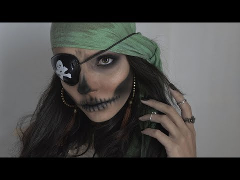 Large-Pantaloni bandana e Cintura Media Top FUN BAMBINO Costume Pirata-Piccola