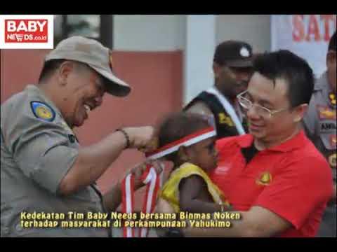 Binmas Noken Polri Bersama Yayasan Baby Needs Berbagi Kasih Di Kampung Yagara – Wamena