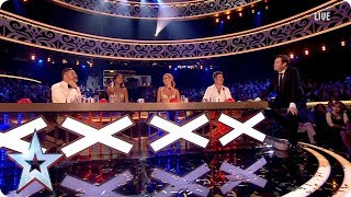 The Judges celebrate Tokio Myers