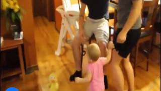[Funny Video] Baby Gets Jealous When Mom Kisses Dad