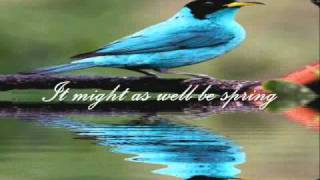 Joni James  - It Might As Well Be Spring (With Lyrics)