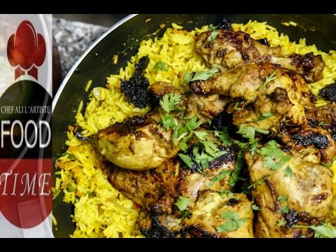 Food Time   Chef Ali Mandhry   Swahili Vegetable Rice With Chicken