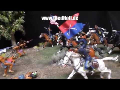 DiedHoff Indianer Diorama