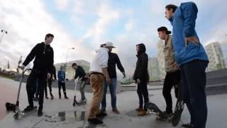 Драка в Янино в скейт-парке. Skatepark fight.